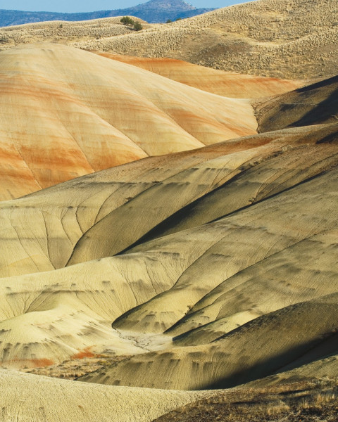 The Painted Hills, located in central Oregon, are part of the 14,000-acre John Day Fossil Beds Na...