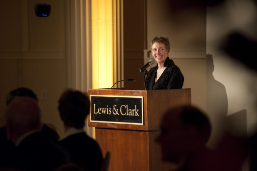Amelia Wilcox B.A. '81, president of the College of Arts and Sciences Alumni Board.