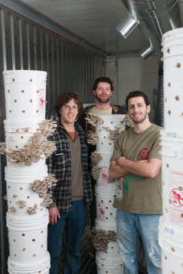 Founders of Portland Mushroom Company and winners of Lewis & Clark's Venture Competition:...