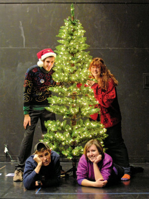 Happy Holidays From the Hamiltons. Written by Nick Lantz B.A. '03. Directed by Meredith Pamp CA...