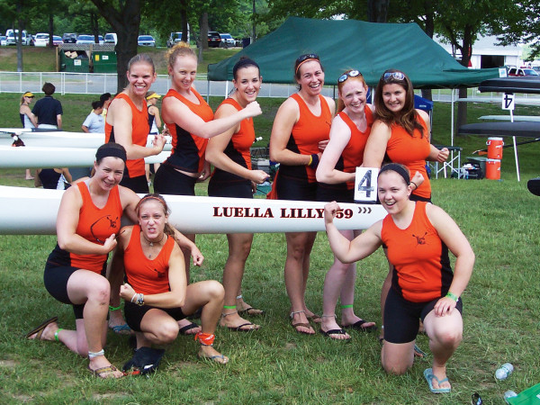 2005-06 Womens Rowing Team