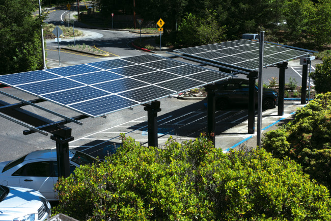 Solar Panels at the Law School