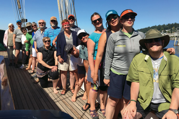 CANADIAN GULF ISLANDS AND VICTORIA, B.C. July 2019 with Stephen Dow Beckham, Pamplin Professor Em...