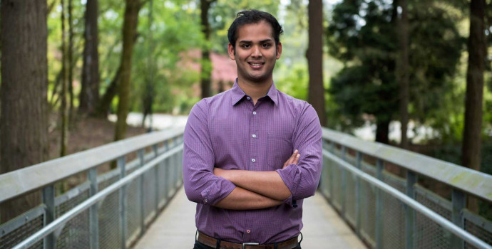 Yash Desai B.A. '15, a Davis United World Scholar, interned with Aginsky Consulting Group while...