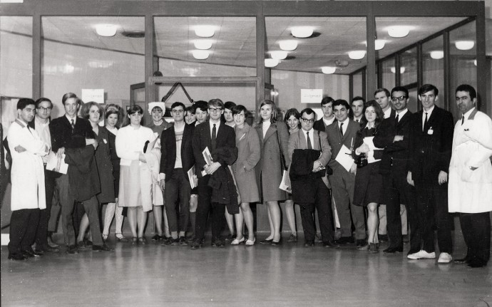 One of the more unusual sites the 1968 Iran program students visited was Tehran University's nuclear research reactor.