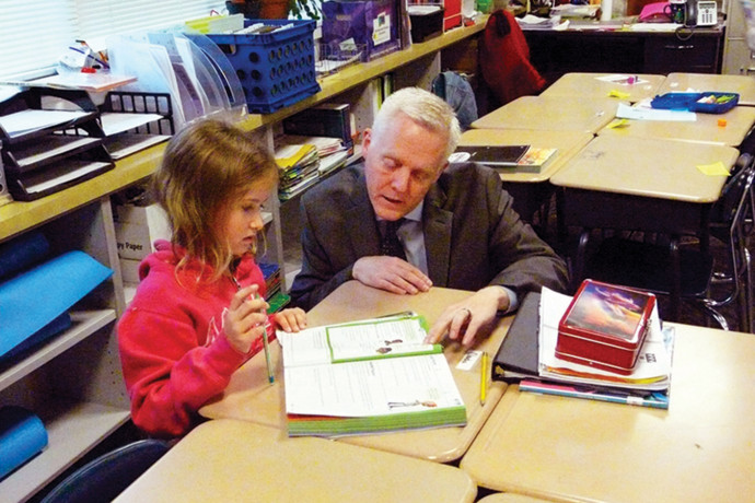 Matt Utterback is superintendent of Oregon's North Clackamas School District, which serves more than 17,000 students.