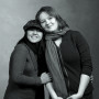 Andrea Liamzon (CAS '10—Quezon City, Philippines) and Danya Spencer (CAS '11—Brooklyn, Ne...