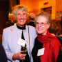 Inaugural Dinner – Ruth Keller and Jane Atkinson, vice president and provost.
