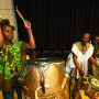Installation Ceremony – The Obo Addy Ghanaian Drummers helped open the ceremony.