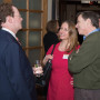 Harvard Club Boston: Barry Glassner talks with Carolina Greenwood, parent of Connor Laubenstein C...