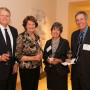 Trustee Ed Jensen and Marilyn Jensen with Ivy Timpe and Trustee Ron Timpe B.S. '61.
