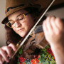 "Erin Carlson CAS '17, Park City, Utah ""This three-quarter-size violin has been passed down..."