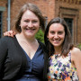 Keira Roberts CAS '15 (left) and Sarah Lowenstein CAS '15