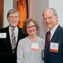 Associate Dean Gary Reiness with Donna Dermond and her husband, Kurt Wehbring.