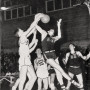 "On athletics … ""Basketball did well. The gym at that time— the earlier gym—was built duri..."