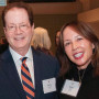 President Glassner and Trustee Heidi Hu B.S. '85