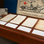 The items in the exhibition draw on a wide range of sources, including the wartime letters of Mor...