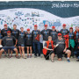 HOOD TO COAST RELAY TEAM—With true Pioneering spirit, 18 alumni (12 runners, 3 van drivers, and...