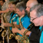 The Golden Reunion Banquet, complete with music and dancing, was one of many activities during th...