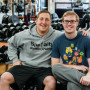 Ryan Lockard BA '07 and Ben, the inspiration behind Specialty Athletic Training. (Mary Rebekah ...