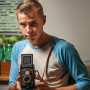 "Gabriel Binder CAS '17, Oakland, California ""This 1956 Rolleiflex film camera was my grand..."