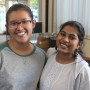 Vinaya and Nhi smiling at the success of Open House !