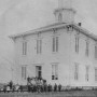 1867 Albany Collegiate Institute Built in 1867 at a cost of $8,000, this served as Albany College...