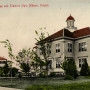 1905 Albany College Albany College postcard featuring the administration building with Tremont Ha...