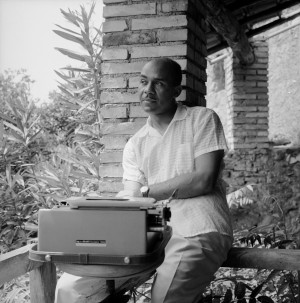Ralph Ellison in 1957, four years after his novel Invisible Man won the National Book Award. Elli...