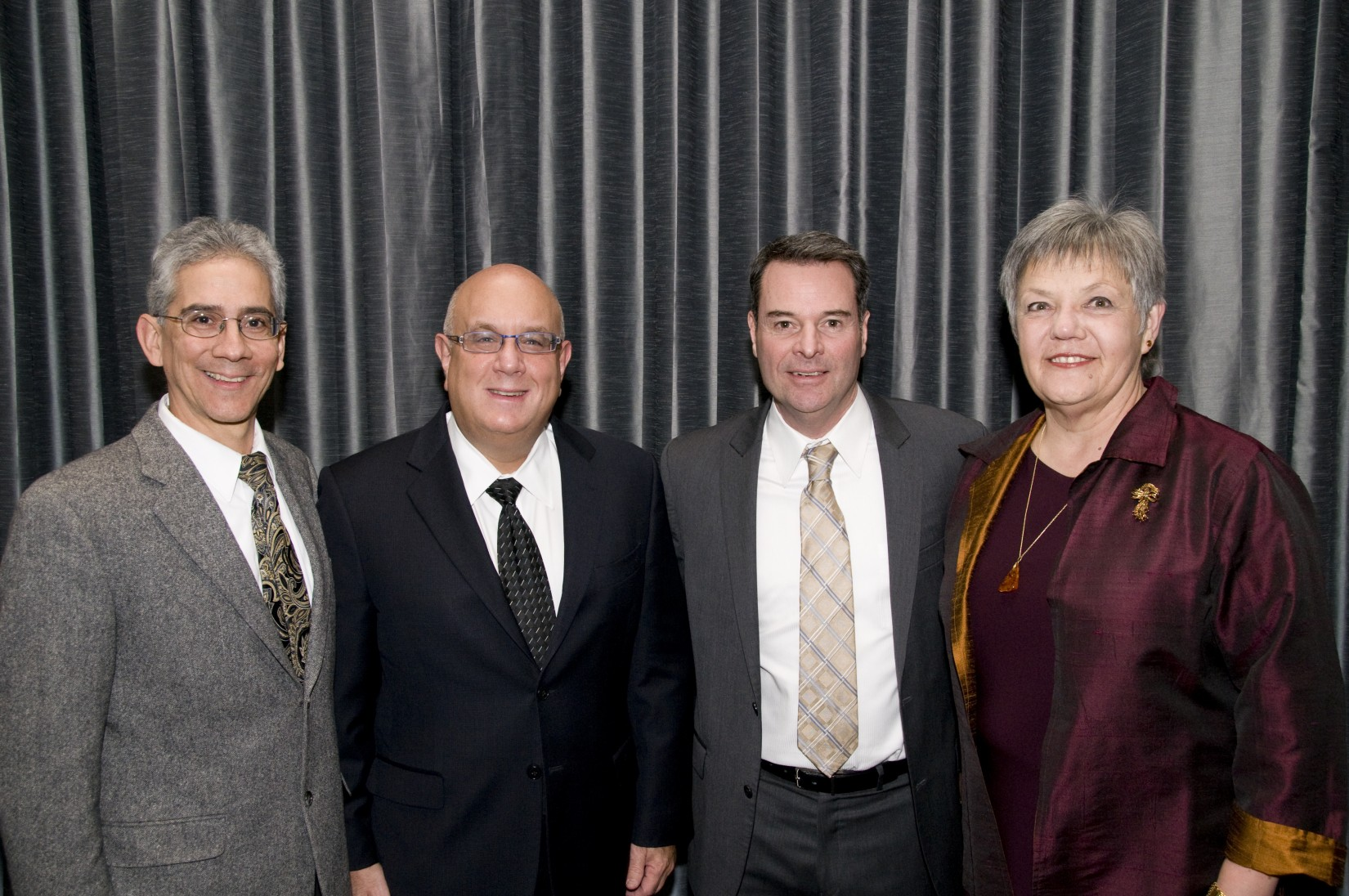 The Hon. Marco Hernandez, the Hon. Michael H. Simon, the Hon. Michael McShane '88, and the Hon. Anna Brown '80.