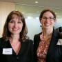 Harpole Attorney Award winner Laura Schantz '94 and Joyce Anne Harpole  Memorial Scholarship re...