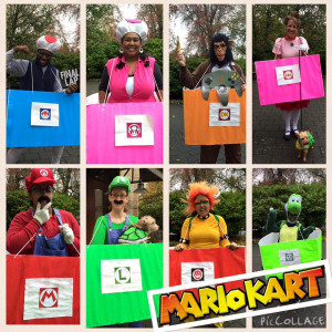 "Best group costume: ""Mario Kart,"" by Campus Living"
