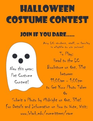 L&C Halloween Costume Contest - CARE: Community and Recreation for ...