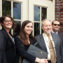 Jackson County Legal Team  L to R: George Kimbrell (CFS), Amy Van Saun (CFS), Lia Comerford (Eart...