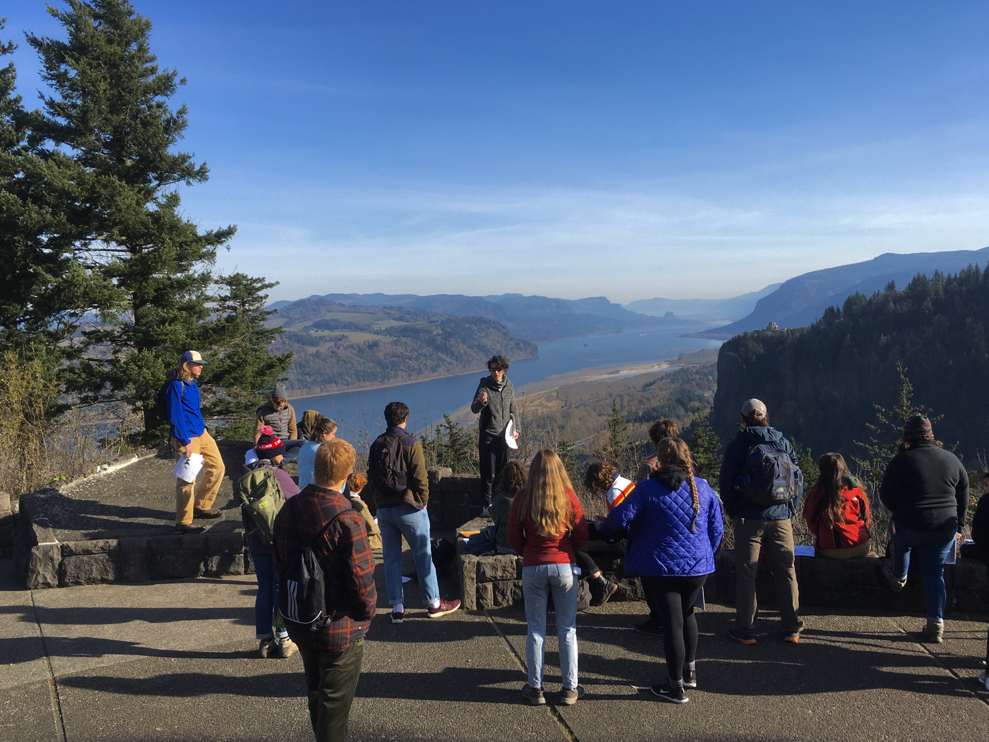 GEOL 150 field trip to the Columbia River Gorge