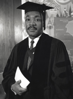 Dr. Martin Luther King, Jr. receives his Ph.D. at age 26.