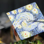 L&C students artfully decorate their graduation caps.