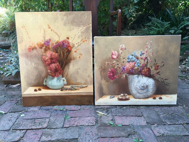 Paintings by Patricia Halsell '82