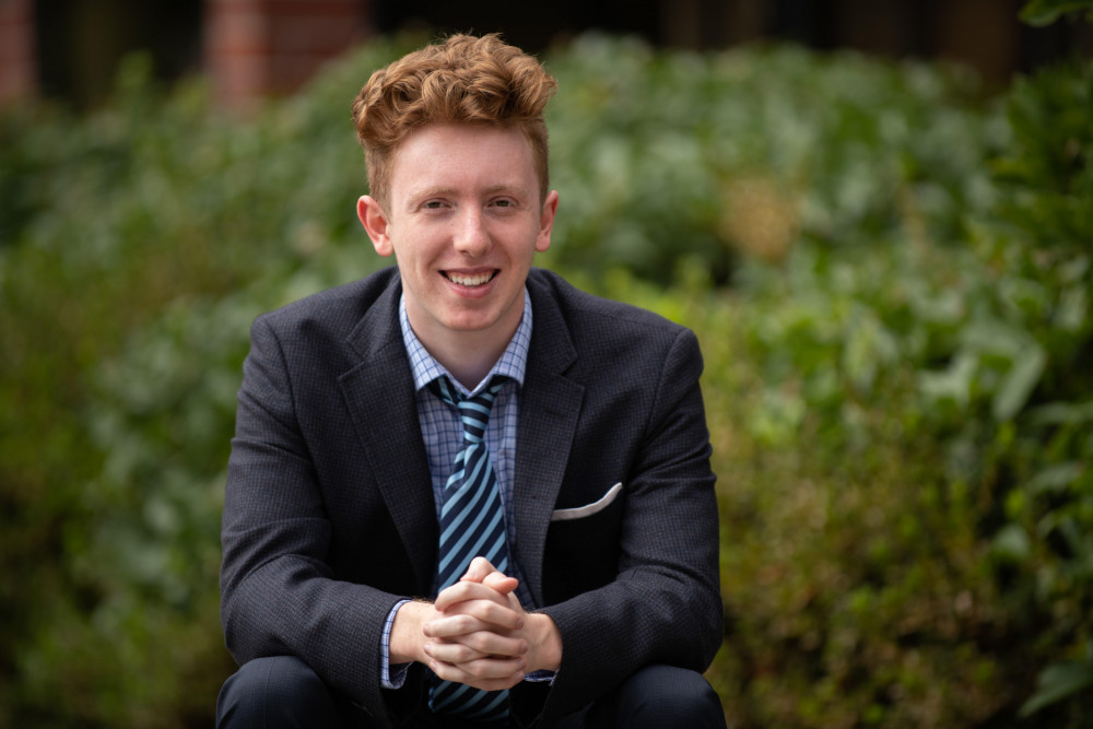 Rory Bialostosky BA ?22, newly elected member of the West Linn City Council.