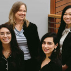 Clockwise, from bottom left: Cristin Kladis JD ?20; Delcianna Winders, assistant clinical profess...