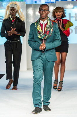 Rugamba at Africa Fashion Week in London