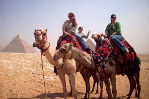 Johanna Hall, Lewis & Clark participant, said: Traveling to Egypt…I learned so much more th...