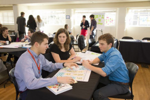 Students participate in Winterim 2013—Entrepreneurship: A Life of Innovation.