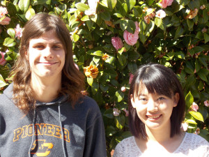 Colin Ehr '14 and Aojie Zheng '15