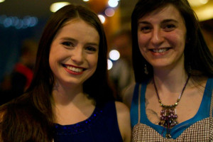 Caitlin Fisher-Draeger B.A. '12 and Erica Terpening-Romeo '14