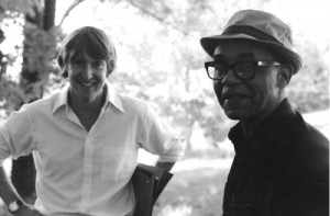John Callahan and Ralph Ellison (photo courtesy of the estate of Ralph Ellison)