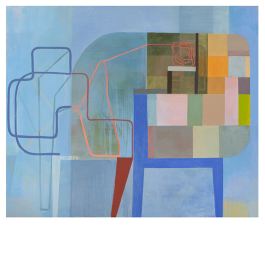 User Illusion 2010 Oil on linen 60 x 72 inches