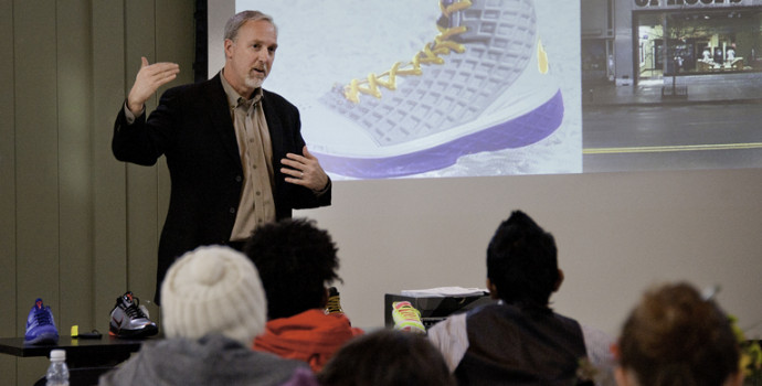 Dan Jones B.S. '82, vice president and general manager of Nike North America Basketball, talks ...