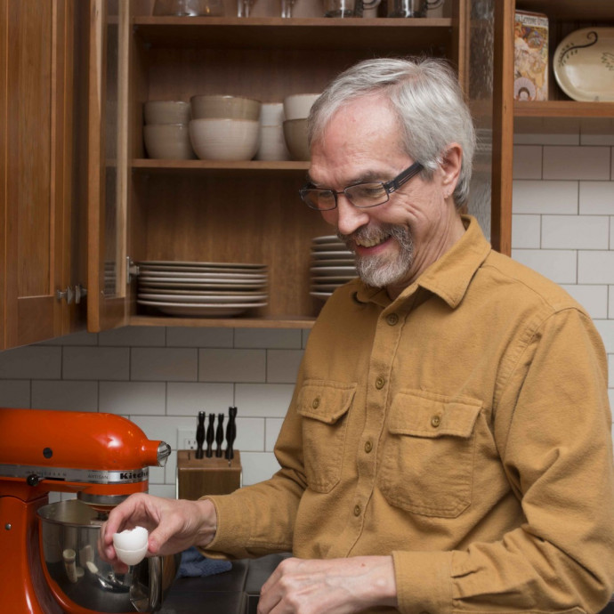 John Krussel     Professor of Mathematics Alter Ego: Cheesecake Baker My hobbies don't have ...