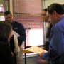 Representatives from 11 school districts and agencies met with Lewis & Clark students in Marc...